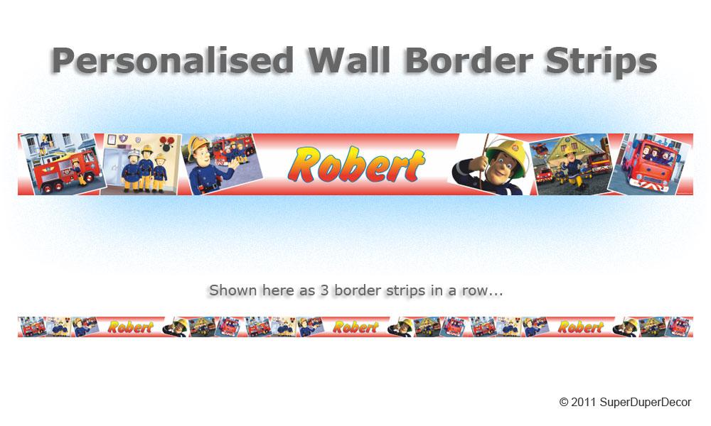 Custom Wallpaper Borders. Personalized Photo Wall Borders